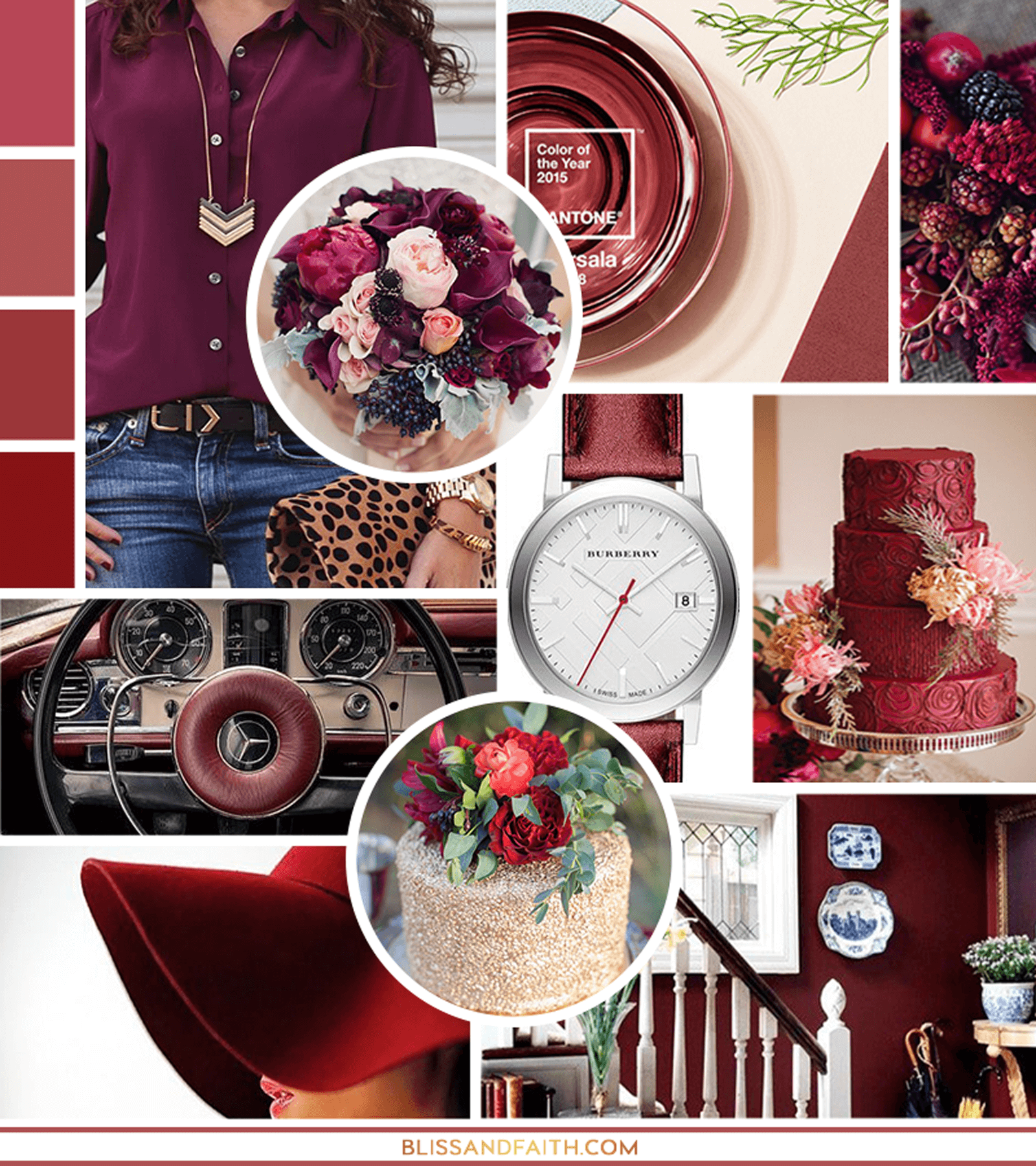For the Love of Marsala | Mood Board | BlissandFaith.com
